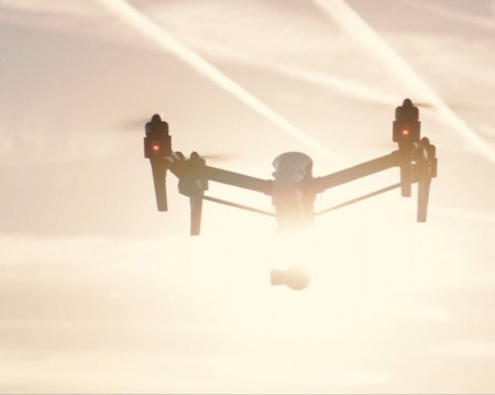 rodajes y trabajos aéreos con drones